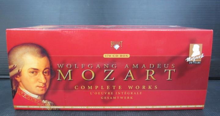 クラシック CD BOX モーツァルト 大全集 170枚組 中古品