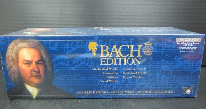 クラシック CD BOX バッハ BACH EDITION 155枚組 中古品