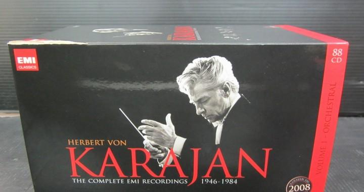 Karajan カラヤン CD BOX 1946-1984 コレクション 88枚 中古品