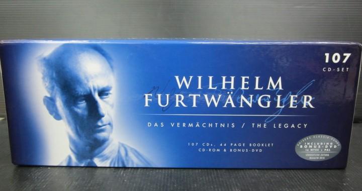 クラシック CD BOX フルトヴェングラー 107枚組 中古品