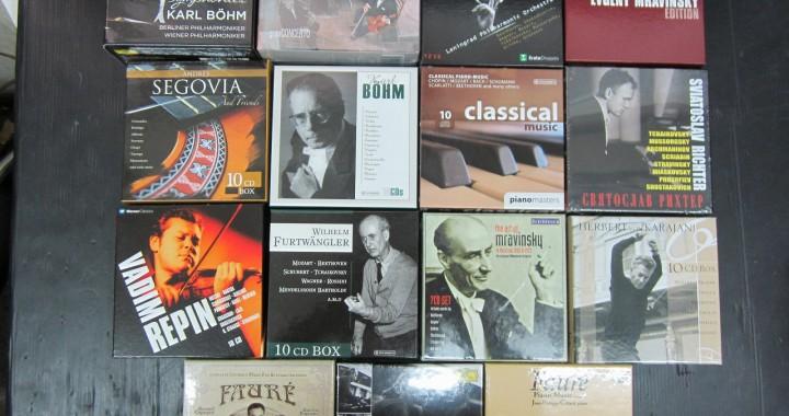 クラシック CD BOXセット 大量 まとめて 中古品 管理⑬