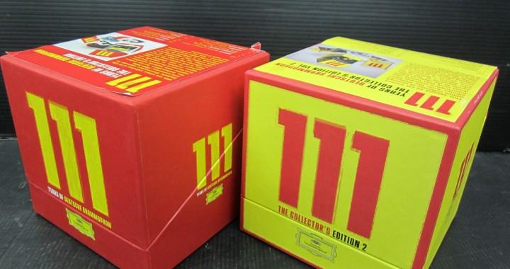 クラシック CD 111枚 111 Years of Deutsche Grammophon BoxⅠⅡセット 中古品