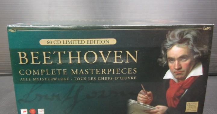 クラシック CD BOX ベートーヴェン 60枚組 中古品