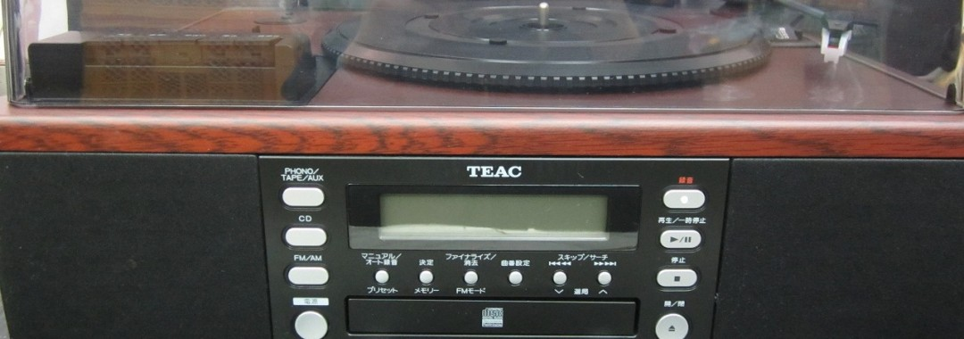 TEAC LP-R550USB レコード/カセット/CD レコーダー 中古品