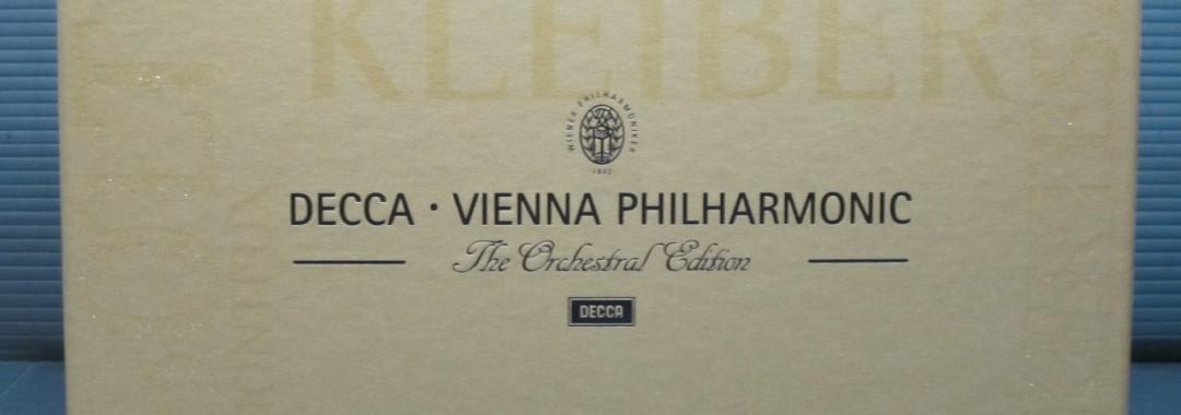 Decca Vienna Philharmonic CD 65枚組 中古品