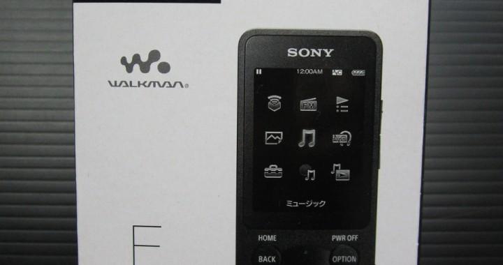 未使用品 SONY NW-E083 ウォークマン 4GB ブラック