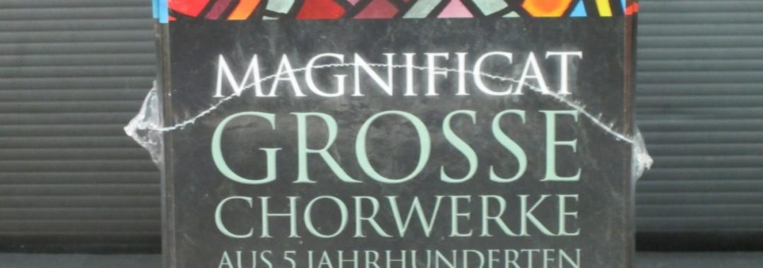 未開封品 マニフィカト Magnificat Grosse Chorwerke CD50枚組